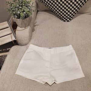 Brand new Zara white shorts size XS